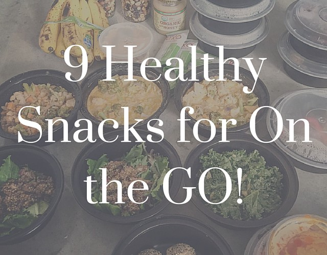 9 healthy snacks for on-the-go.