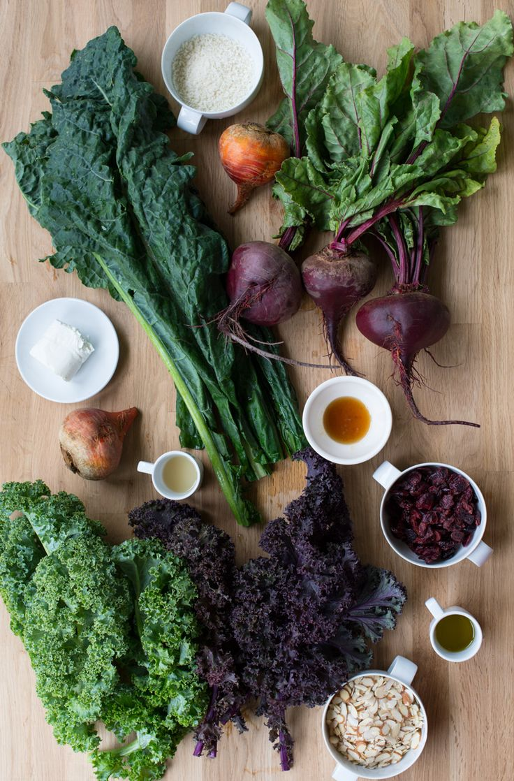 Warm Kale & Beet Salad