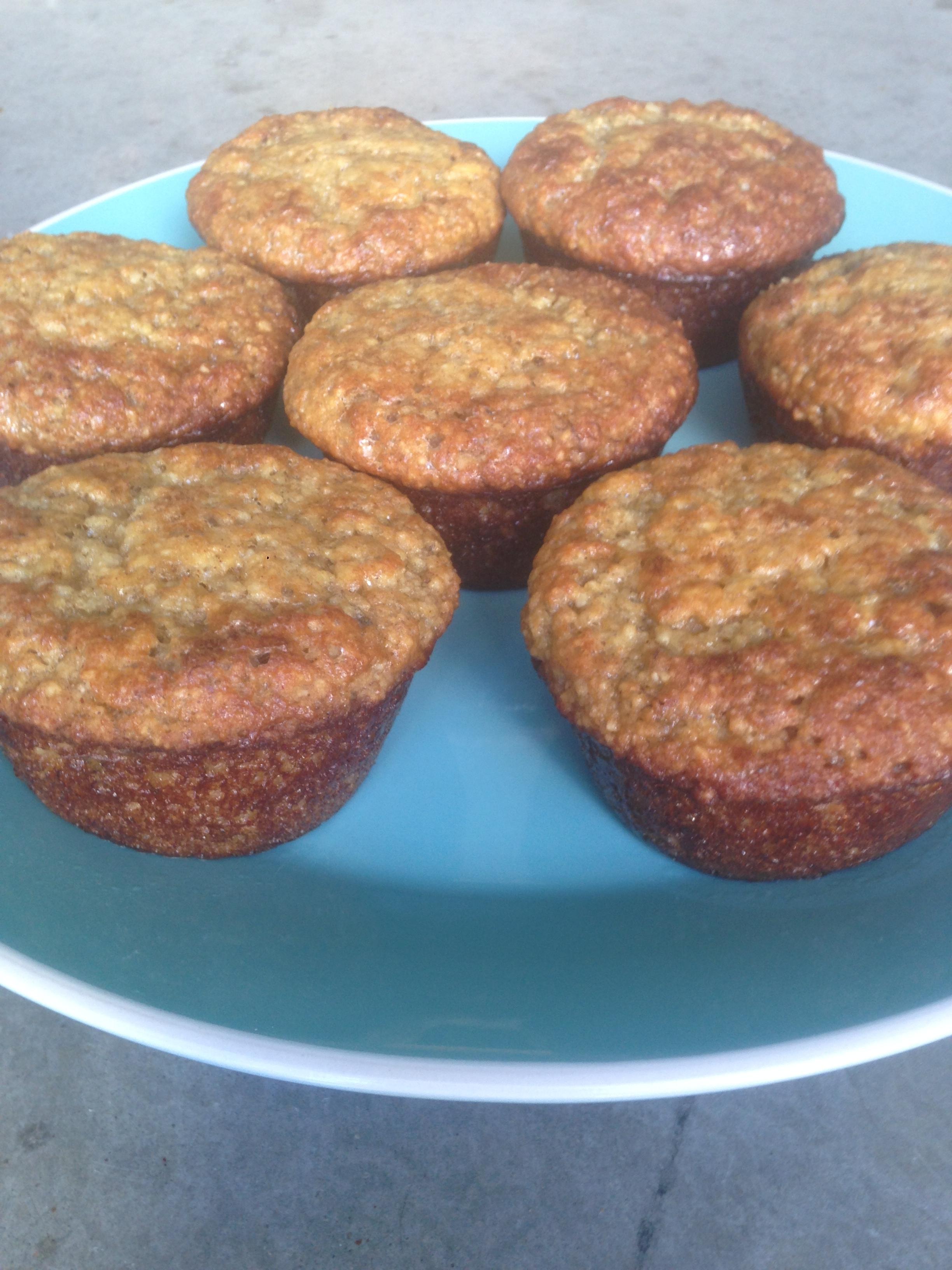 Guilt-free Gluten-free Banana Nut Muffins
