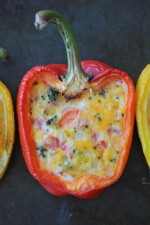 Pepper Quiche Cups Recipe