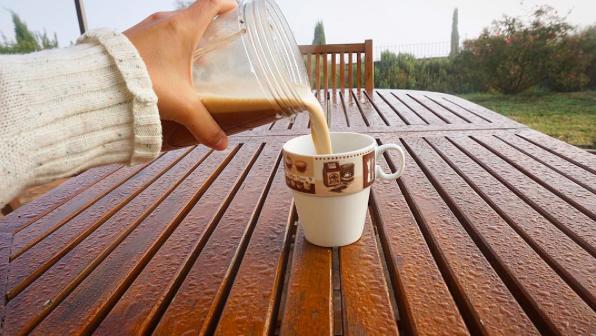 maca coffee