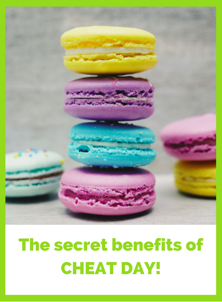 Have you discovered the secret benefits of #cheatday ?